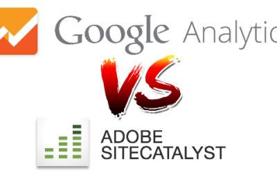 Google Analytics vs. Adobe Marketing CLoud (SiteCatalyst) Web Analytics Platforms